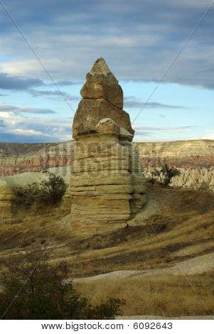 Giant Mushroom In Cappadocia