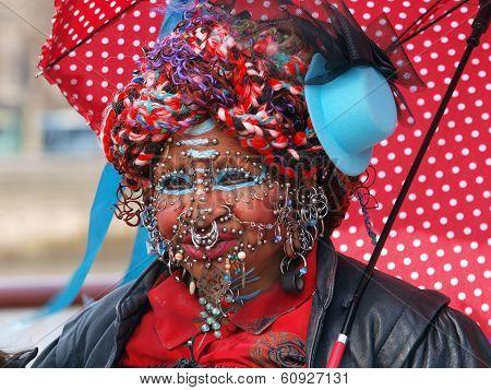 Pierced Woman