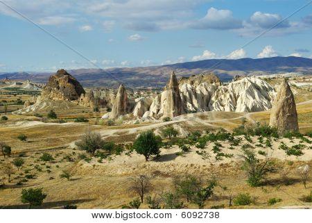 Perspective View In Cappadocia