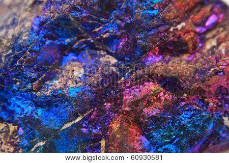 Chalcopyrite Mineral Background