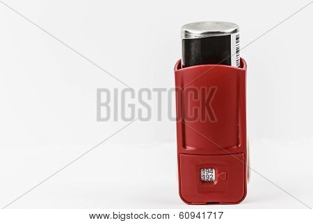Backside Of Inhaler