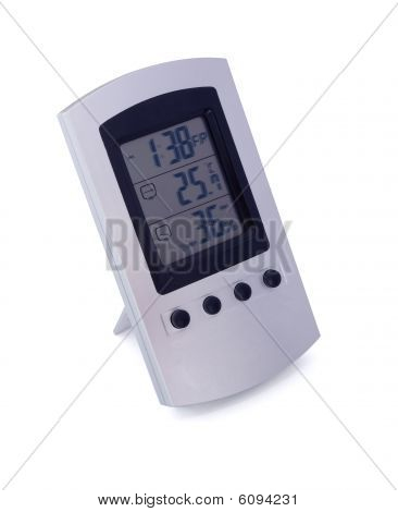 Digital Weather Station With Clock