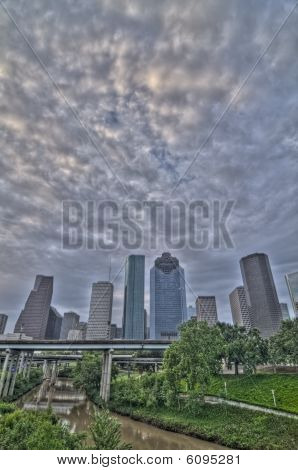 Houston Sunrise HDR