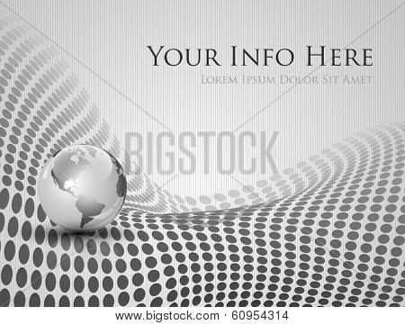 Elegant abstract technology background - vector illustration