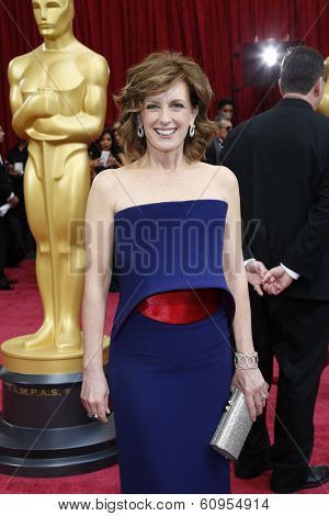 LOS ANGELES - MAR 2:: Anne Sweeney  at the 86th Annual Academy Awards at Hollywood & Highland Center on March 2, 2014 in Los Angeles, California