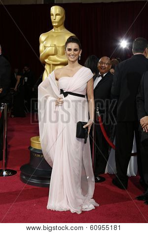LOS ANGELES - MAR 2:: Penelope Cruz  at the 86th Annual Academy Awards at Hollywood & Highland Center on March 2, 2014 in Los Angeles, California