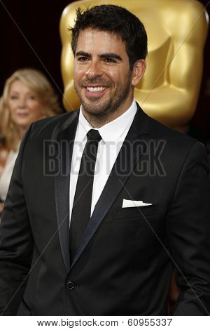 LOS ANGELES - MAR 2:: Eli Roth  at the 86th Annual Academy Awards at Hollywood & Highland Center on March 2, 2014 in Los Angeles, California