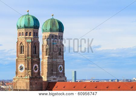 Munich, Frauenkirche, Cathedral Of Our Dear Lady, Bavaria, Germany