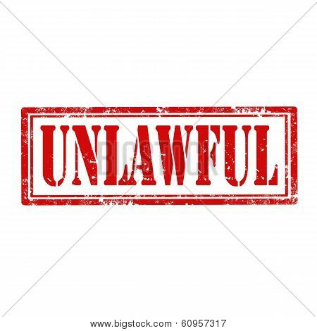 Unlawful-stamp