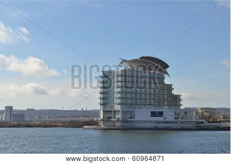 St Davids Hotel, Cardiff Bay. Wales