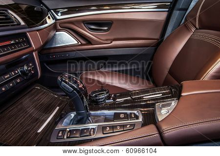 Luxury Car Interior Details