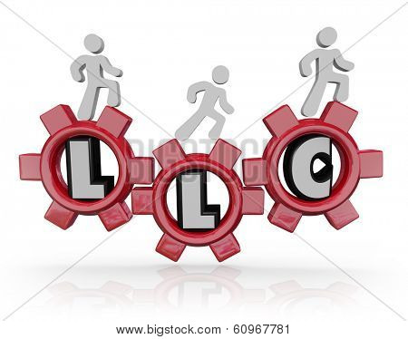 LLC Limited Liability Corporation People Gears