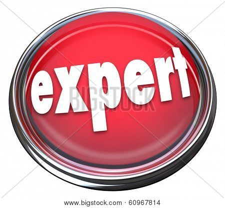 Expert Button Flashing Light Advertise Skills Experience