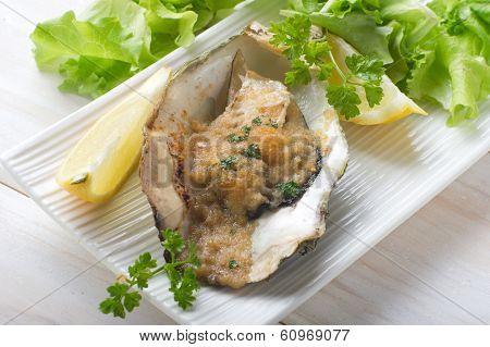 oyster au gratin