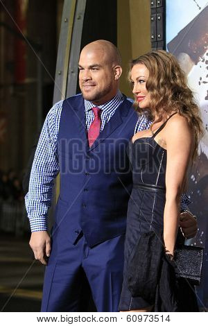 LOS ANGELES - MAR 4: Tito Ortiz at the Premiere of '300: Rise Of An Empire' held at TCL Chinese Theater on March 4, 2014 in Los Angeles, California