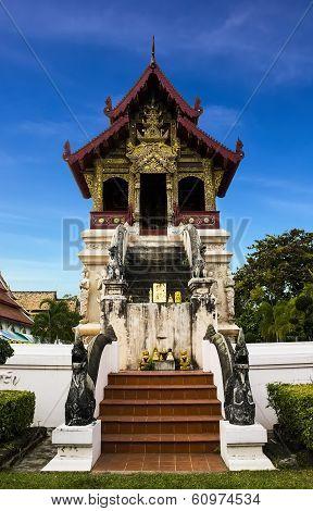 Wat Phra Singh Woramahaviharn In Chiangmai