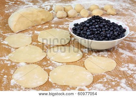 Dumplings With Blueberries