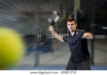 Paddle Tennis Player