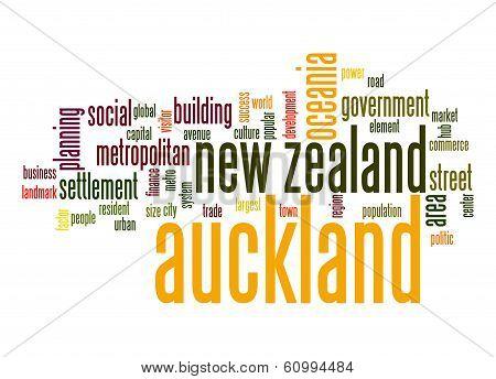 Auckland Word Cloud