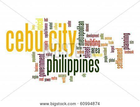 Cebu City Word Cloud