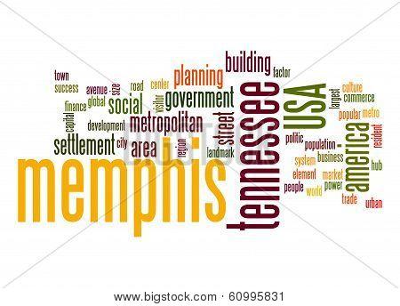 Memphis Word Cloud