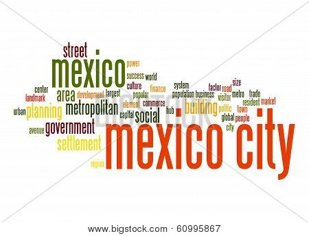 Mexico City Word Cloud