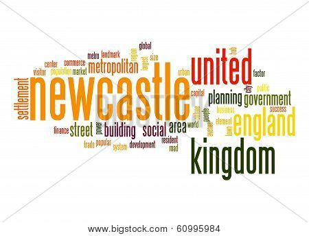 Newcastle Word Cloud