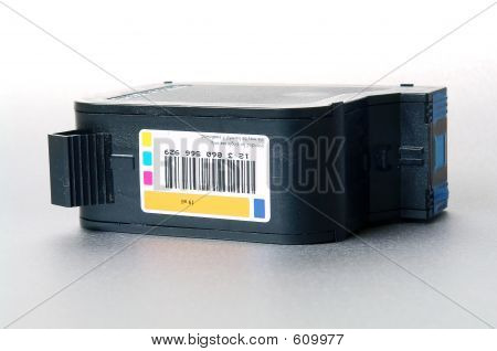 Inkjet Cartridge, Flat Down