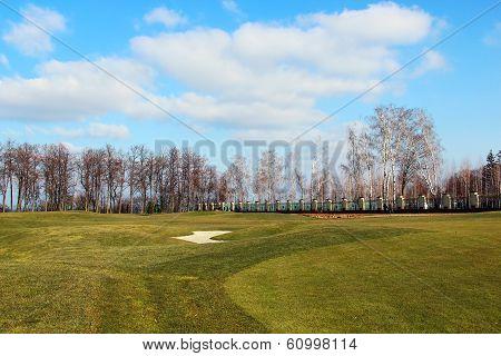 Golf Course In Mezhyhirya, Ukraine