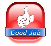 pic of job well done  - good job great work well done button - JPG
