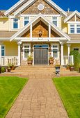pic of brownstone  - Entrance of a house - JPG