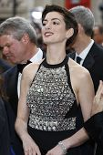 LOS ANGELES - MAR 2:: Anne Hathaway  at the 86th Annual Academy Awards at Hollywood & Highland Cente