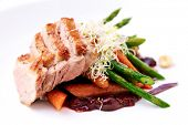 foto of roast duck  - Cherry duck breast - JPG