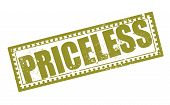 image of priceless  - priceless grunge stamp with on vector illustration - JPG