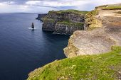 picture of cliffs moher  - Cliffs of Moher in County Clare Ireland - JPG
