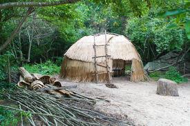 image of tipi  - Native American wigwam hut  - JPG