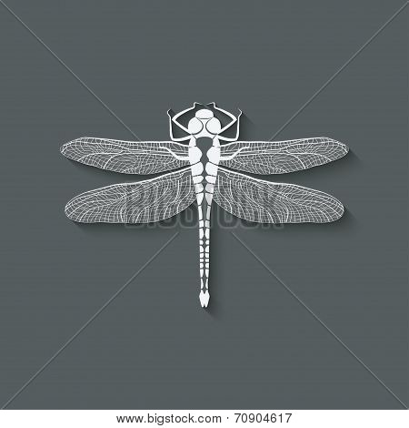 dragonfly insect symbol