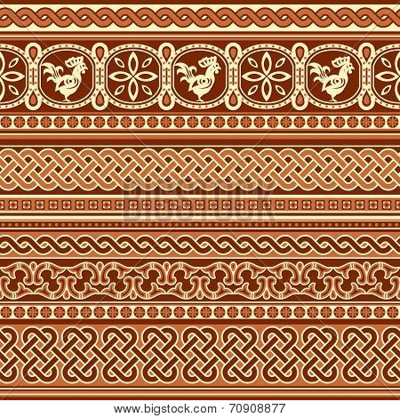slavic ornament seamless