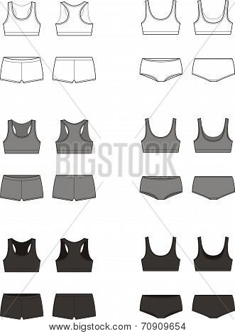 Sport underwear