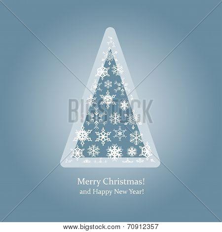 Christmas Tree-snowflakes-pyramid.