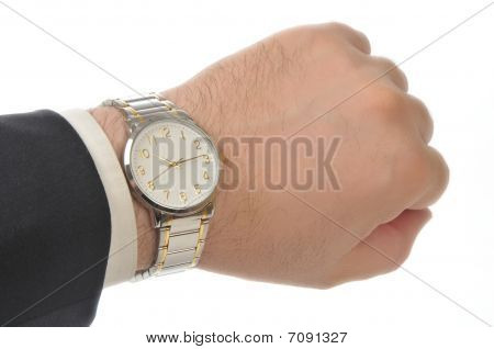 Wristwatch On Hand