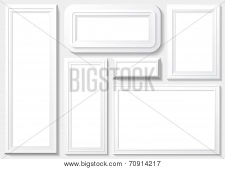 Frame With White Background.