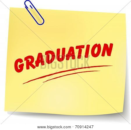 Graduation Message