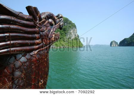 Halong Bay Junkboat