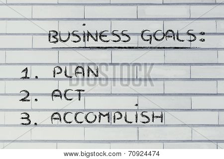 Business Goals: Planning Success