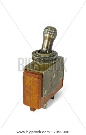 Old Soviet Military Toggle Switch