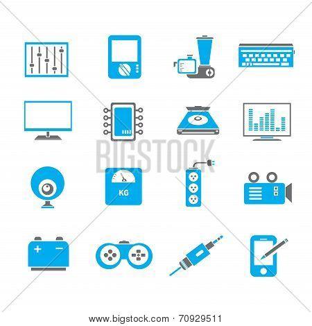 electronic icons i