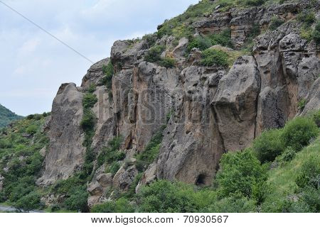 The Mountains Near The Armenian Monastery