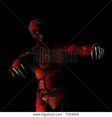 Skeleton In A Skin Suit