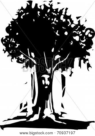 Face Tree Spirit